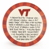Hokie Fan Ceramic Platter