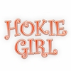 Hokie Girl Decal