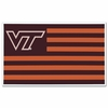 Hokie Nation Flag Car Magnet