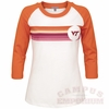 Hokies Womens Retro Baseball Tee