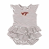 Infant Virginia Tech Emily Dress with Maroon Logo
