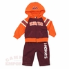 Infant Virginia Tech Linebacker Hoodie & Pants Set