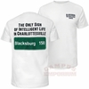 Blacksburg Sign Intelligent Life in Charlottesville Tee