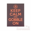 Keep Calm and Gobble on Decal