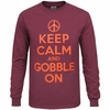 Keep Calm and Gobble On Long-Sleeved Tee