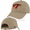 Khaki Virginia Tech Adjustable Felt Applique Hat