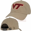 Khaki Virginia Tech Classic Cut Twill Hat