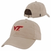 Khaki Virginia Tech Relaxed Twill Cap