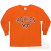 Kids Long Sleeved VT Hokies Shirt