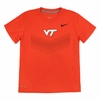 Kids Orange Virginia Tech Nike Dri-FIT Tee