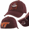 Kids Virginia Tech Distressed Hokie Cap
