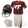 Kids Virginia Tech Football Uniform Set