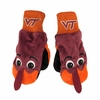 Kids Virginia Tech Hokie Mittens