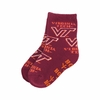 Kids Virginia Tech Hokies Slip Resistant Socks