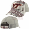 Kids Virginia Tech Plaid Cap