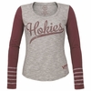 Ladies Hokies Dugout Tee by 47Brand