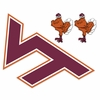 Large Virginia Tech Hokies Wall Decal