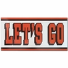 """Let's Go"" Car Magnet"