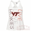 Live Love Hokies Ladies Swing Tank