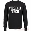 Long Sleeved Virginia Tech Black Shirt