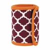 Maroon and Orange Can Coozie Cover