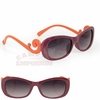 Maroon and Orange Curl Spirit Sunglasses