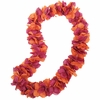 Maroon and Orange Lei