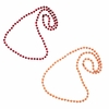 Maroon and Orange Spirit Beads