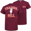 Maroon Bill Roth 27 Years T-Shirt