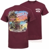 Maroon Livin on Hokie Time T-Shirt