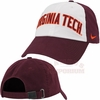 Maroon Nike Heritage86 Virginia Tech Wordmark Hat