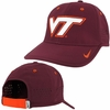 Maroon Nike Virginia Tech Legacy91 Coaches Cap