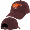 Maroon Virginia Tech Adjustable Felt Applique Hat