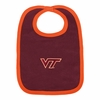 Maroon Virginia Tech Baby Bib