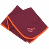 Maroon Virginia Tech Baby Blanket