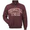 Maroon Virginia Tech Big Cotton Quarter Zip