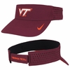 Maroon Virginia Tech Dri-FIT Visor by Nike