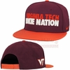 Maroon Virginia Tech Hokie Nation Snapback by Nike