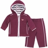 Maroon Virginia Tech Infant Hooded Jacket Set