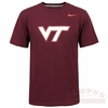 Maroon Virginia Tech Logo Tee by Nike