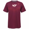 Maroon Virginia Tech Sideline Performance Tee by Nike