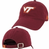 Maroon Virginia Tech Slouch Adjustable Cotton Hat by Adidas