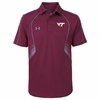 Maroon Virginia Tech SMU Polo