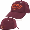 Maroon Virginia Tech Swoosh Flex Nike Legacy91 Hat