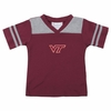 Maroon Virginia Tech Toddler Football Stripe Tee