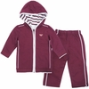Maroon Virginia Tech Toddler Hooded Jacket Set