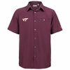 Men's Virginia Tech Button Up Camp Shirt