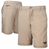 Mens Virginia Tech Khaki Shorts