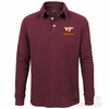 Mens Virginia Tech Long Sleeved Archer Polo