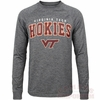 Mens Virginia Tech Slate Long Sleeved Tee